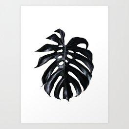 Palm Leave Art Print
