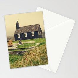 Búðakirkja: Black Church in Iceland - Fine Arts Travel Photography Stationery Cards