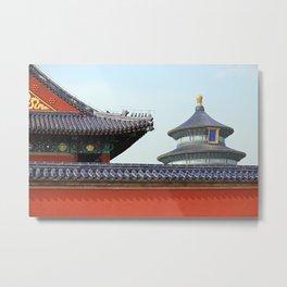 Temple of Heaven   China Metal Print