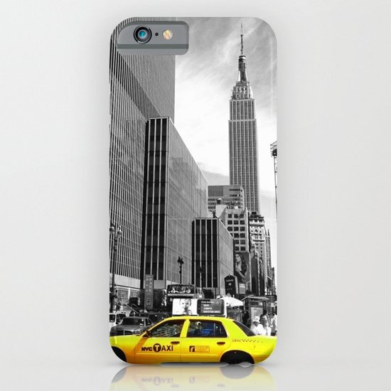 The yellow cab iPhone & iPod Case