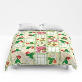 Colorful summer pacifrc. Comforters
