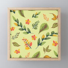 Flower Design Series 2 Framed Mini Art Print