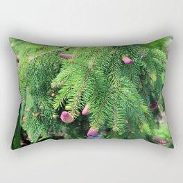 Norway Spruce IV Rectangular Pillow