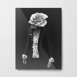 flower man Metal Print