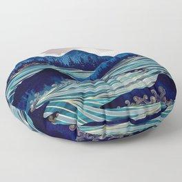 Ocean Sunrise Floor Pillow