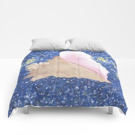 Conch Republic Flag Painting Comforters