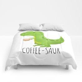 Coffee-saur Comforters