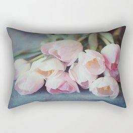 Beautiful Tulips Rectangular Pillow