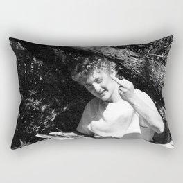 Flip them off dude Rectangular Pillow