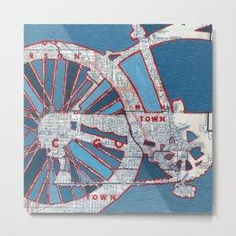 Bike Chicago - Grant Park Metal Print