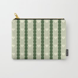 Green Locket Carry-All Pouch