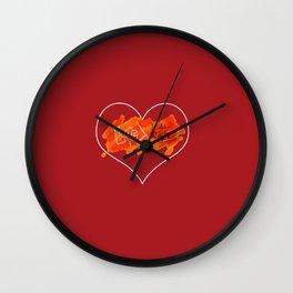 #LoveNotDeath Wall Clock