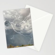 Arrival of the Monsoon Storm Generator Stationery Cards