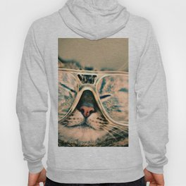 Sosy Cat with Glasses Hoody