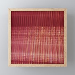 Lights Framed Mini Art Print