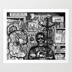 Superdead Art Print