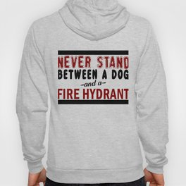 Dog And A Fire Hydrant Hoody
