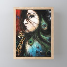 Gaia Framed Mini Art Print