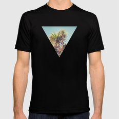 Palm Mens Fitted Tee Black LARGE