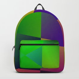 colorful texture design Backpack