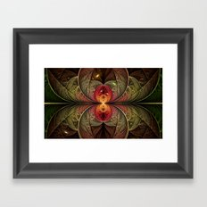 Autumn Galaxy Framed Art Print