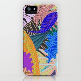Lush Leaves 2 iPhone Case