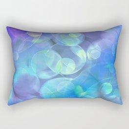 Surreal Fractal Abstract Design Rectangular Pillow