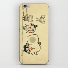 Forest Friends \ Cute Animals March\ elephant cats dogs  iPhone & iPod Skin
