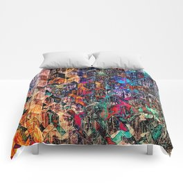 Colored Links Comforters