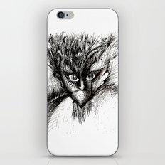 Owl Girl Eyes iPhone & iPod Skin