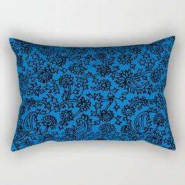 Indian Wood Block Patterns 3 Rectangular Pillow
