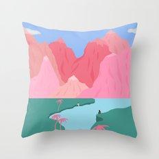 Girls' Oasis Throw Pillow