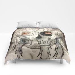 Face Underneath Comforters