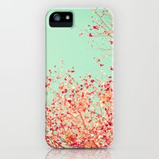 Little dots of red iPhone (5, 5s) Slim Case