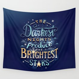 Brightest Stars Wall Tapestry