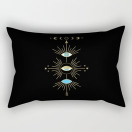 Evil Eye Totem Rectangular Pillow