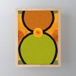 Peridot Eight Framed Mini Art Print