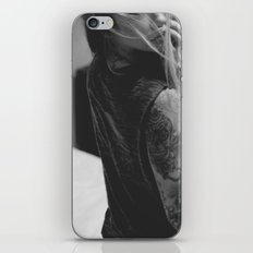 about a girl. iPhone & iPod Skin