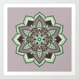 Elven Mandala Art Print