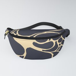 black bubles Fanny Pack