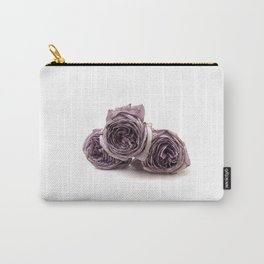 Purple wilted roses Carry-All Pouch