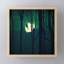 A Girls Dream Framed Mini Art Print