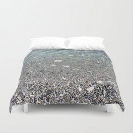 sparkling lake Duvet Cover