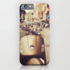 Vespa in Paris iPhone 6s Slim Case