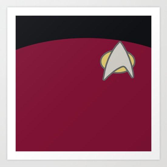 Star Trek: The Next Generation Art Print