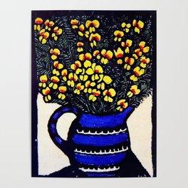 """Dilwynia"" by Australian Artist Margaret Preston Poster"