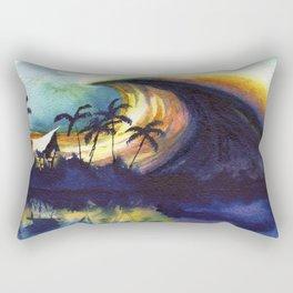Storm ridge Reef Rectangular Pillow