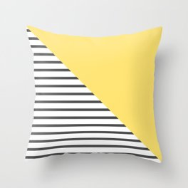 dismantled pattern Throw Pillow