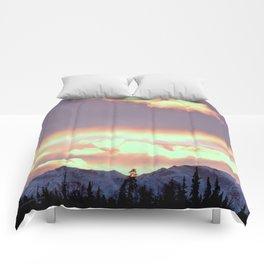 Chugach Mts Serenity Sunrise - III Comforters