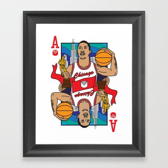 Chicago's Ace Framed Art Print